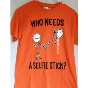 "2/$15 ❄️ Boys T-Shirt ""Selfie Stick"""